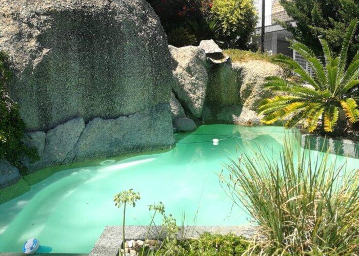 Pool at Holiday Villa in Bantry Bay
